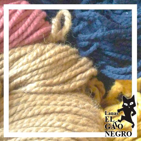 lana italiana especial para alfombras lanas el gato negro
