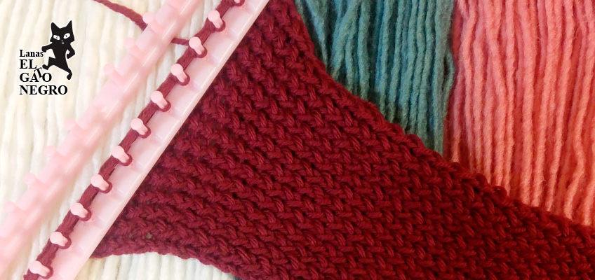 Cómo tejer una bufanda en telar