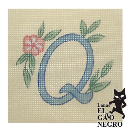 cañamazo letra Q